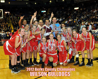 Berks County Girls Basketball Championship - Wilson vs Reading High 2011- 2012