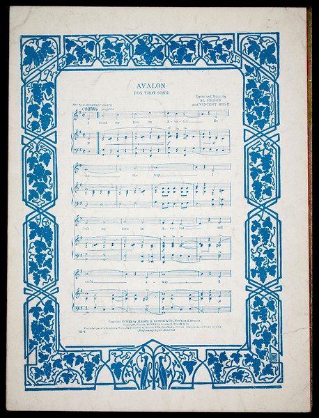 Hiawatha's melody of love: song