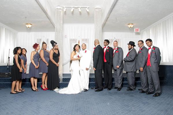 Flanagans Wedding Party