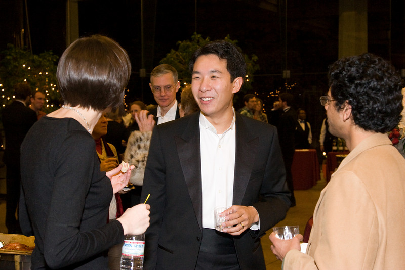 Roger Peng (with Lisa Tinanoff and Sujay Pathak) -- HSO 25th anniversary post-concert Gala