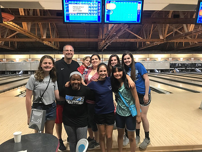 Teacher Outing - Bowling with the Schmids