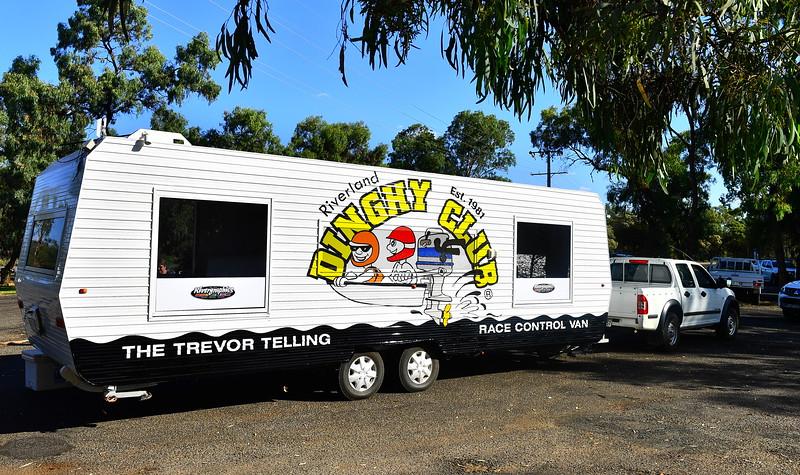 "Official naming of ""Trevor Telling Race Control Van"""