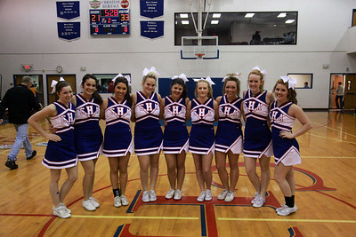 CHA 2012-13 Senior Cheerleaders