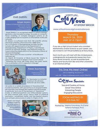 CafeNova March 26, 2020