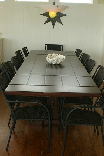 2nd floor dining room table- seats 12