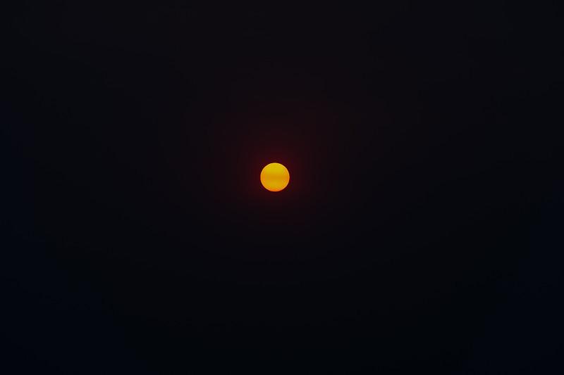 Sunrise and Smokey Sunset, 5-29-2012