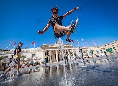 Athlete Tour of Valletta