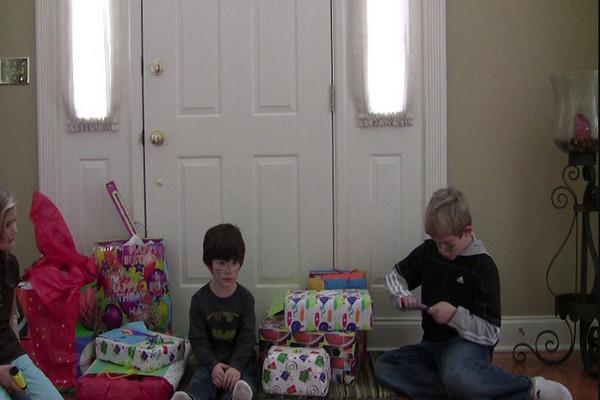 12.06.08 Zane's Dinosaur Birthday Presents