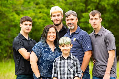 Cooper Family/Senior Photo Session