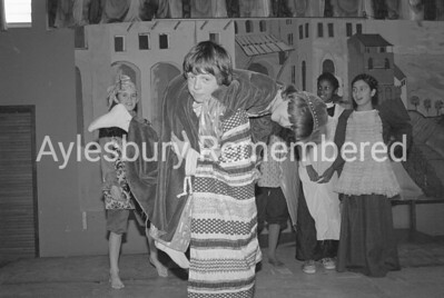 Taming of the Shrew play at Elmhurst County Junior School, Dec 1980