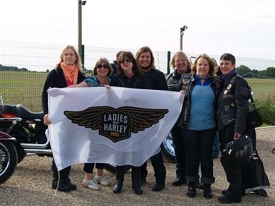 Ladies of Harley Ride 24th September 2017