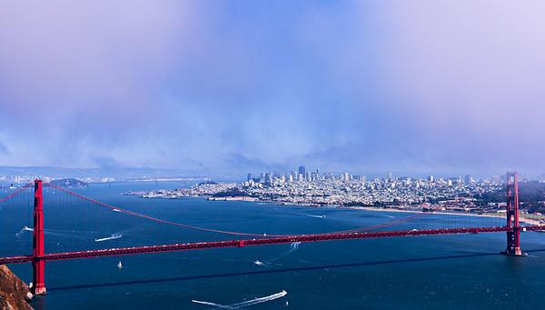 San Francisco, Monterey, Big Sur, CA