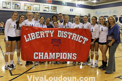Volleyball: Liberty District Finals