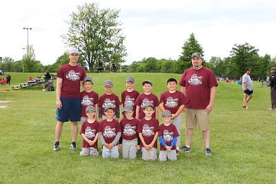 SMAA Baseball Team Photos