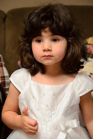 Ava's Birthday, Mar 2012