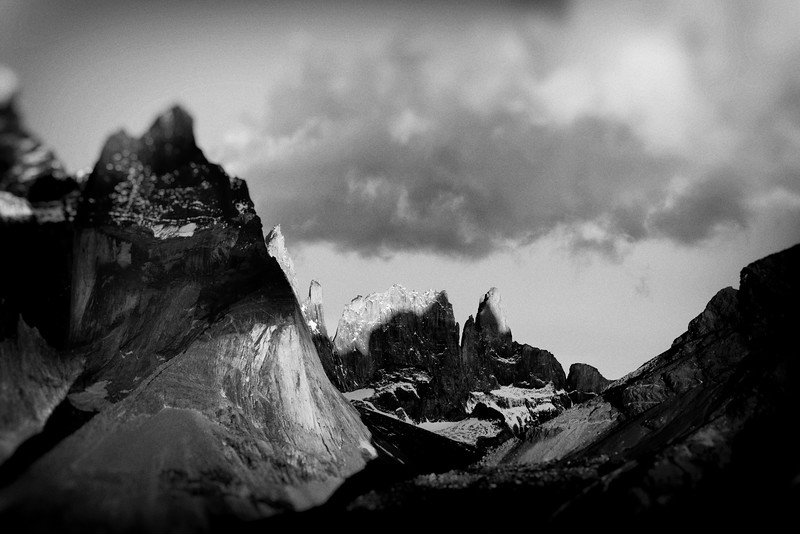Sunrise on The Towers, Torres del Paine National Park, Wyoming