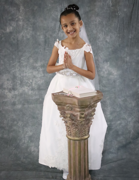 Lily's First Holy Communion