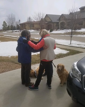 LCC K-9 Comfort Dogs and LCC Hearts of Mercy & Compassion, Crosses for Losses Deploy to Boulder, Colorado