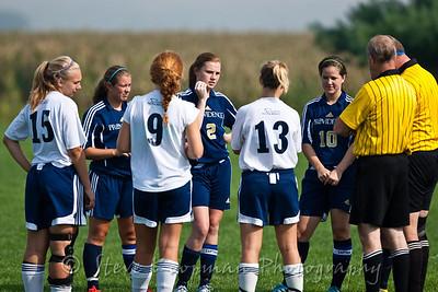 2011 PHS Soccer vs Oldenburg @ Columbus