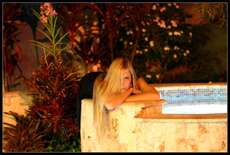 Poolside Meg
