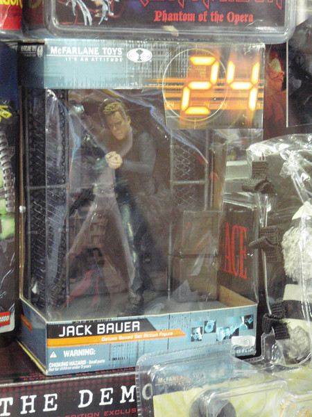 Jack Bauer action figure, DUI not included