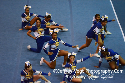 11-15-2014 Gaithersburg HS Varsity Cheerleading at Blair HS MCPS Championship, Photos by Jeffrey Vogt Photography with Kyle Hall