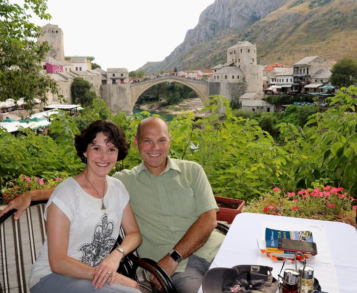 Stari Most (Old Bridge) is Mostar's signature landmark - Mostar, Bosnia and Herzegovina