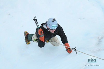 Ed - Ice climb from Exposure Alaska