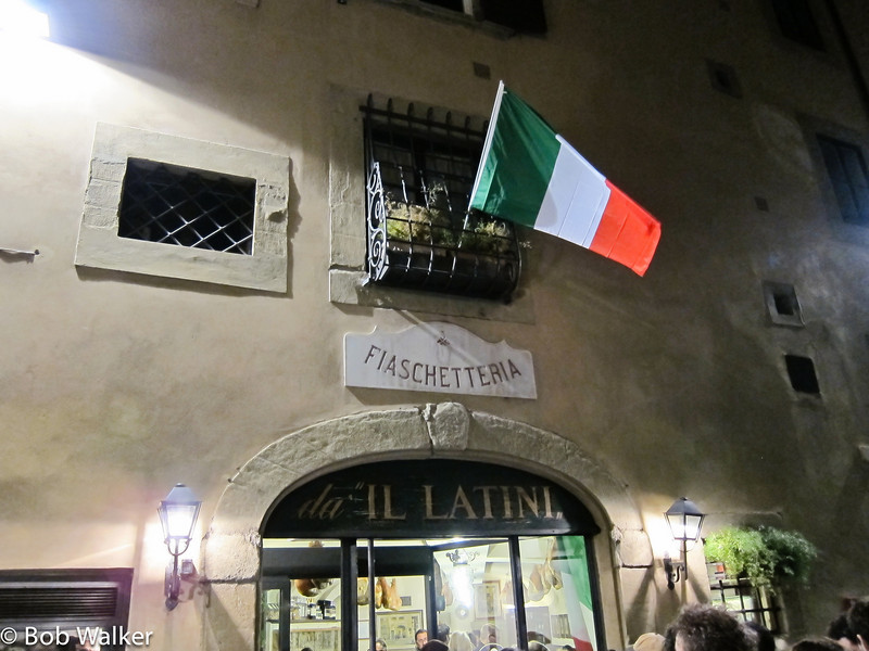 Il Latini Restaurant, our first nights dinner. One of our best!