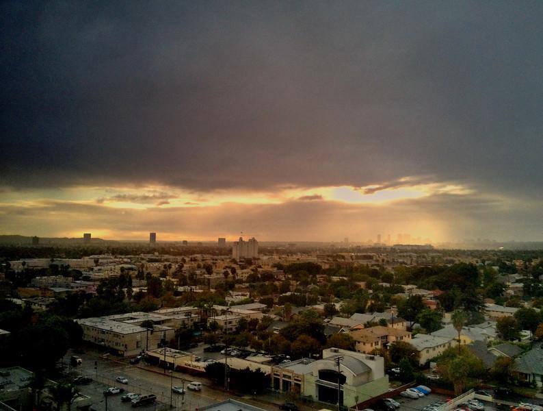 Work Sunset