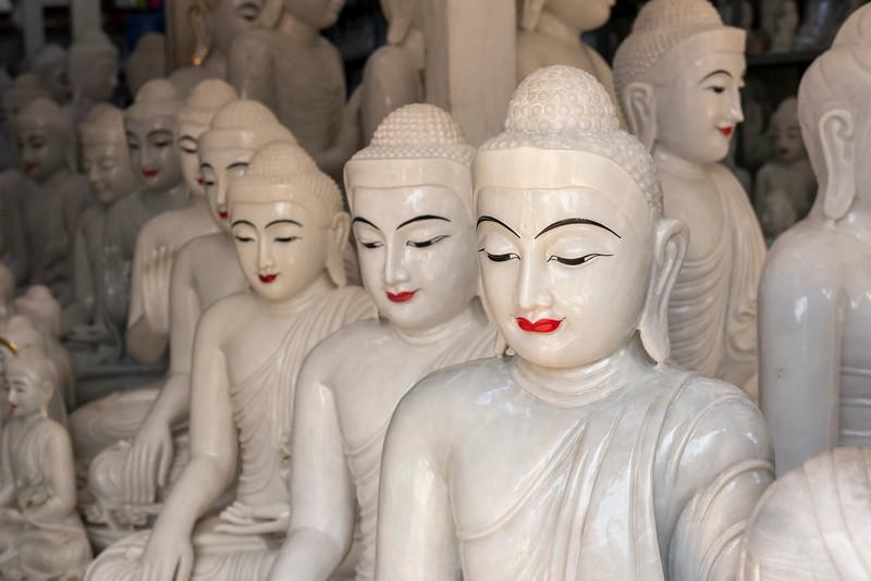 Buddha statue workshop