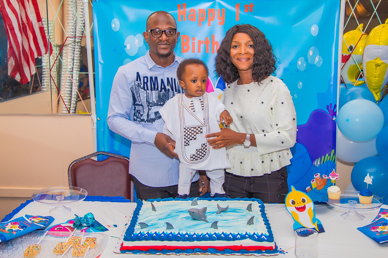 JOTHAM'S ONE YEAR BIRTHDAY