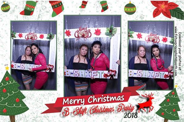B-Shift Christmas Party