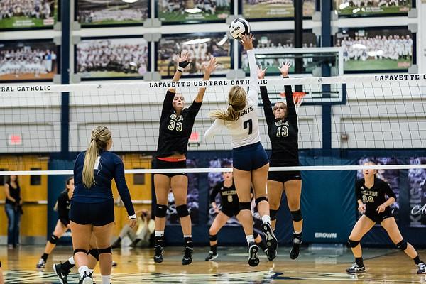 CC Varsity Volleyball vs Noblesville 2017-8-29