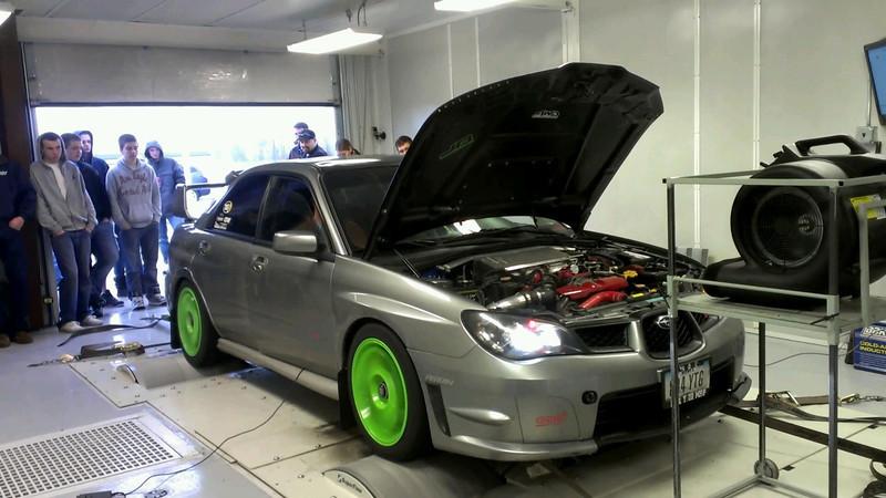 Subaru Dyno Day Boosted Performance