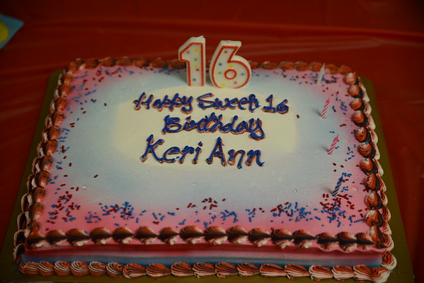 Keri Ann's Sweet 16