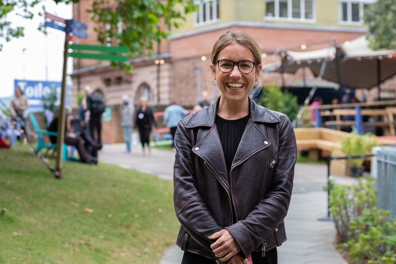 Tamara Zimet, Deputy Programme Director, Edinburgh International Book Festival
