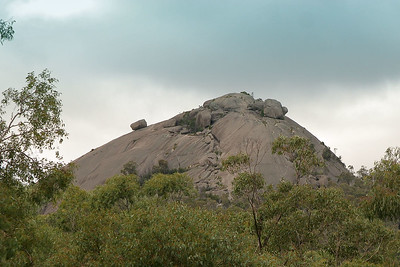 """The spectacular """"Pyramid"""" in Giraween National Park; & the autumn colours of Stanthorpe, April 2008. Photos by Des Thureson."""