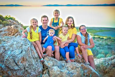 Harmon Family Antelope Island