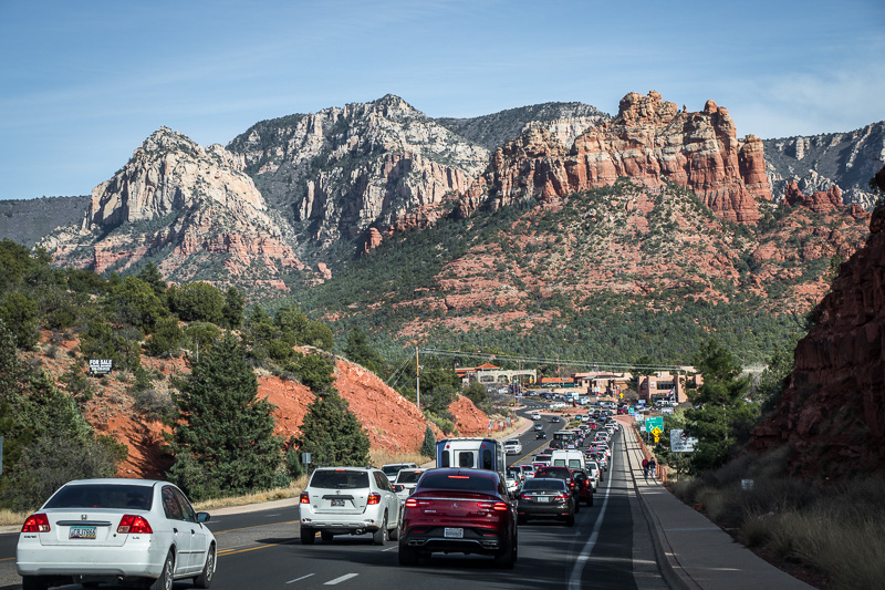 March 25 - A lonely little street leading into sedona, Arizona during Spring Break.jpg