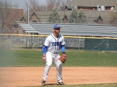 Baseball April 11th & 12th