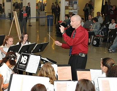 Siegel HS Jazz Ensemble, Chorus and Band