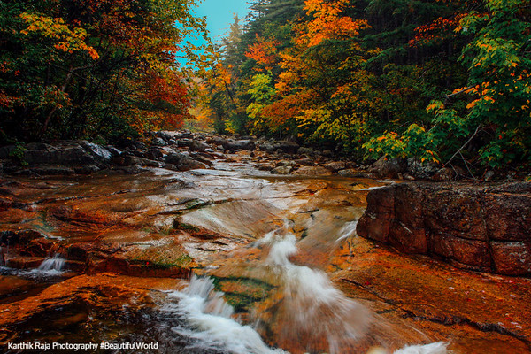White Mountain Trail and National Forest, Franconia Notch State Park, Kancamagus National Scenic Byway, New Hampshire