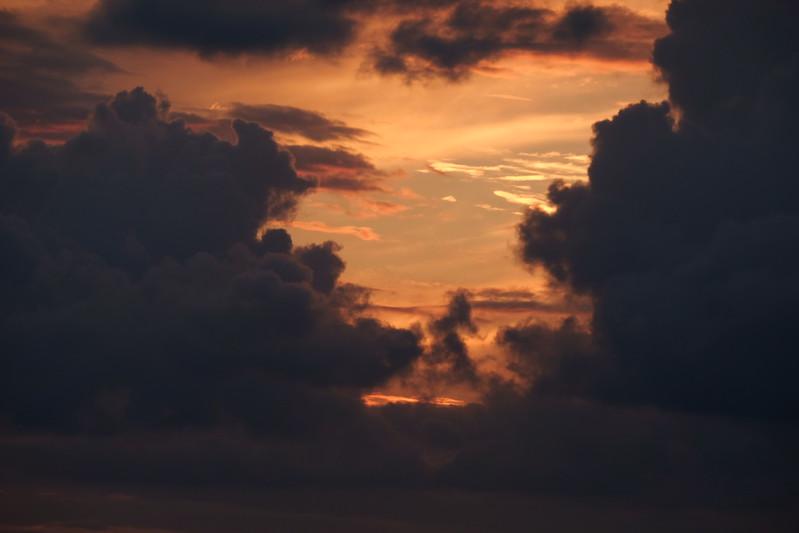 Sunset Cloud Walker - Tuscany Italy