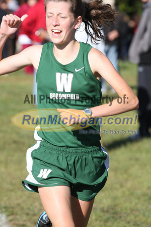 Girls D1 - 2012 Brother Rice - West Bloomfield Invite