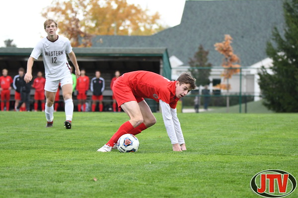 MHSAA Division 2 regional soccer Western, Divine Child, Tecumseh and Melvindale 10-23-19
