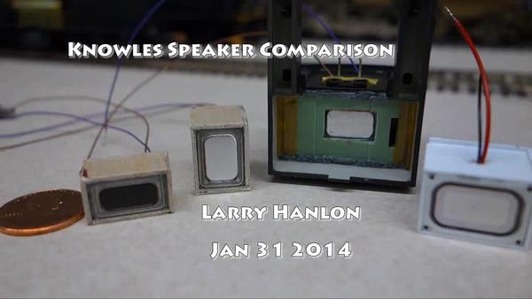 Knowles micro speakers 1-31-14