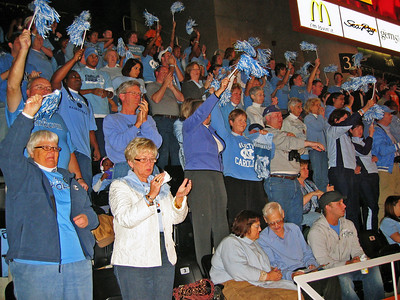 Carolina Tar Heels vs the Tennessee Volunteers