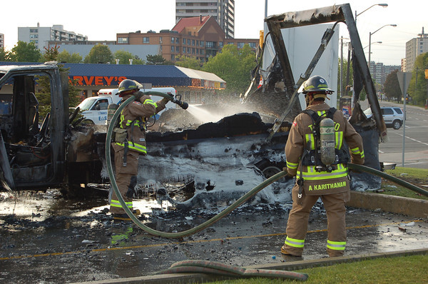 May 22, 2006 - Fireworks Truck on Fire - Markham Rd / Kingston Rd