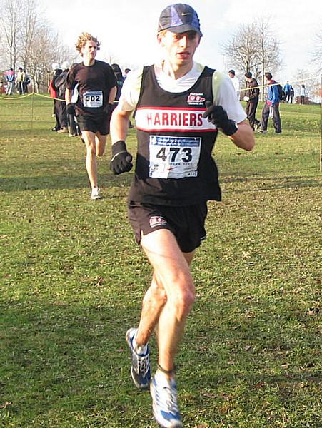 2005 Canadian XC Championships - Jonathan Withey
